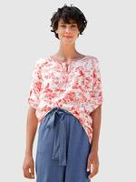 Dress In Blouse  Rood::Wit
