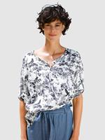 Dress In Blouse  Marine::Wit