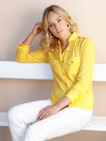 Amy vermont Blouse  Geel