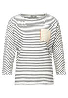 Street One Oversized shirt met strepen