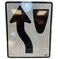 fiftiesstore Black Arrow Straatbord - Origineel