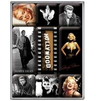 Fiftiesstore Magneet Set Hollywood