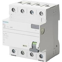 Siemens 5SV3746-6KL Aardlekschakelaar 4-polig 63 A 0.5 A 400 V