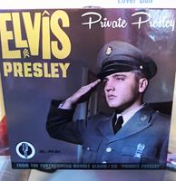Fiftiesstore Elvis Presley - Private Presley Promo CD