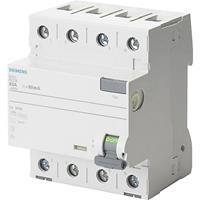 Siemens 5SV3344-6KK01 Aardlekschakelaar A 4-polig 40 A 0.03 A 400 V