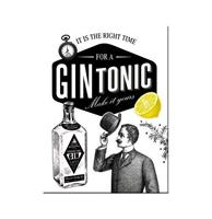 Fiftiesstore Magneet Gin Tonic