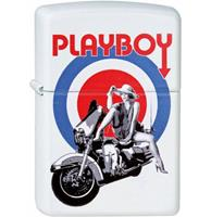 Fiftiesstore Zippo Aansteker Playboy Bullseye