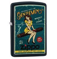 Fiftiesstore Zippo Aansteker Cigar Girl