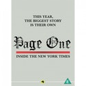 Page One Inside the New York Times DVD