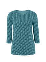 Your Look... for less! Dames Shirt oceaan gedessineerd Größe
