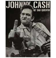 Fiftiesstore Johnny Cash At San Quentin Magneet