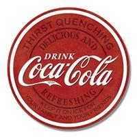 Americana Coca Cola vintage geïnspireerd wandbord van metaal