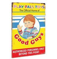Fiftiesstore Child's Play 2: Play Pals Aluminium Bord 46 x 31 cm