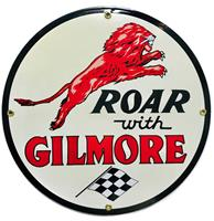 Fiftiesstore Roar With Gilmore Emaille Bord - 30 cm ø