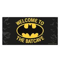 Fiftiesstore Batman: Welcome To The Batcave Metalen Bord