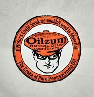 Fiftiesstore Oilzum Motor Oils & Lubricants Emaille Bord