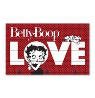 Fiftiesstore Betty Boop - Houten Kapstok - 50 x 30 cm