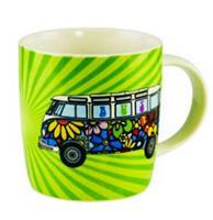 Fiftiesstore Volkswagen T1 Love Bus Beker