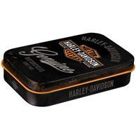 Fiftiesstore Harley Davidson Genuine Pepermunt Blik XL
