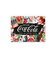 Fiftiesstore Magneet Coca-Cola - Collage