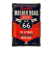 Fiftiesstore Tinnen Bord 20 x 30 Route 66 The Ultimate Road Trip