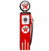Fiftiesstore Texaco 8 Ball Elektrische Benzinepomp Zonder Voet - Zwart & Rood - Reproductie
