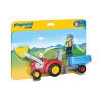 1.2.3 - Boer met tractor en aanhangwagen