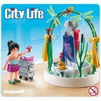 Playmobil ® 5489 Styliste met verlichte etalage op=op