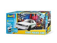 Revell 1/25 Ford Police Car Build & Play