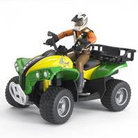 630003 Quad met bestuurder 1:16