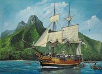 Revell 1/110 H.M.S. Bounty