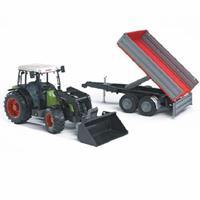 2112  Tractor en Aanhanger Claas N.267 F