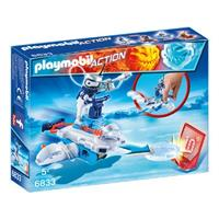 playmobil Action - Icebot met Disc-Shooter