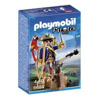 PLAYMOBIL Pirates Kapitein eenoog 6684