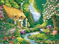 Ravensburger Cottage GardenMalen nach Zahlen 28843