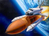 Revell 1/114 Space Shuttle Discovery + Booster Rockets
