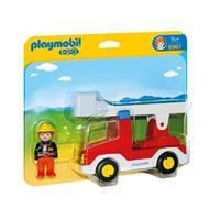 playmobil 1.2.3 - Brandweerwagen met ladder