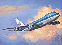 Revell 1/450 Boeing 747-100 Jumbo Jet KLM