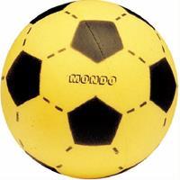 Softbal (schuimrubber) 20cm voetbalprint