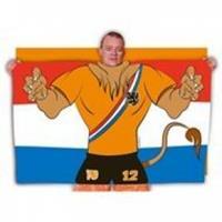 Vlag Poncho Holland Leeuw (30408)