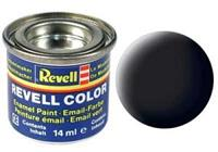 Revell Zwart, mat 14ml no-8