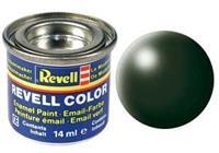 Revell Donkergroen, zijdemat 14ml no-363