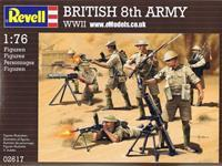 Revell 2617  British 8. army WWII