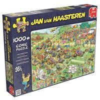 Jumbo Jan van Haasteren - Grasmaaierrace puzzel