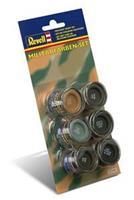 Revell set met verf in militaire kleuren