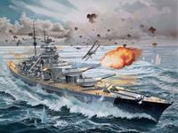 Revell 1/350 Battleship Bismarck