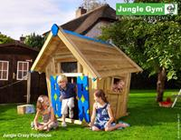 Jungle Gym Crazy Playhouse DeLuxe