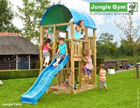 Jungle Gym Farm DeLuxe Blauw