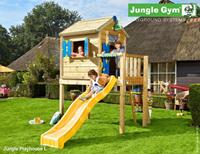 Jungle Gym Playhouse L DeLuxe Blauw