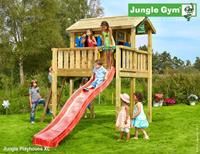 Jungle Gym Playhouse XL DeLuxe Blauw